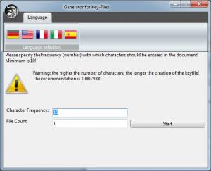 Key file generator